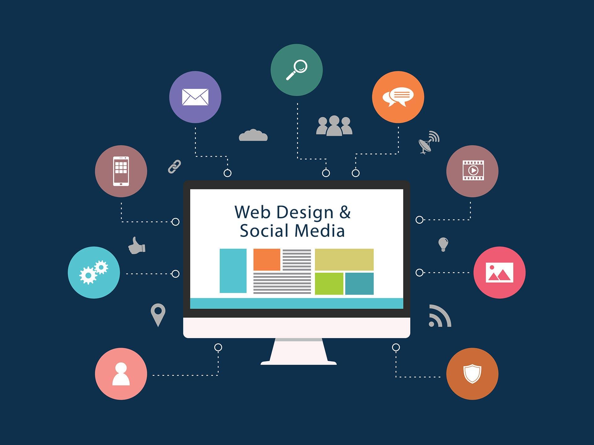 طراحی سایت و پشتیبانی شبکه اجتماعی