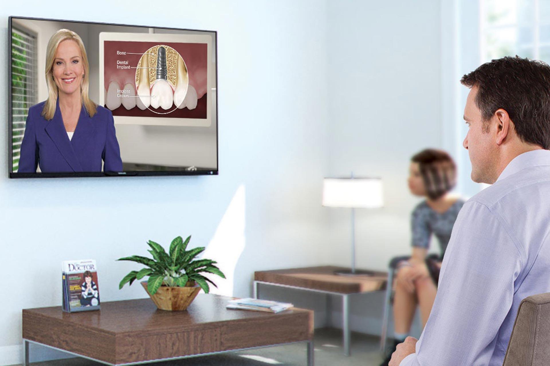 فیلم سالن انتظار دندانپزشکی